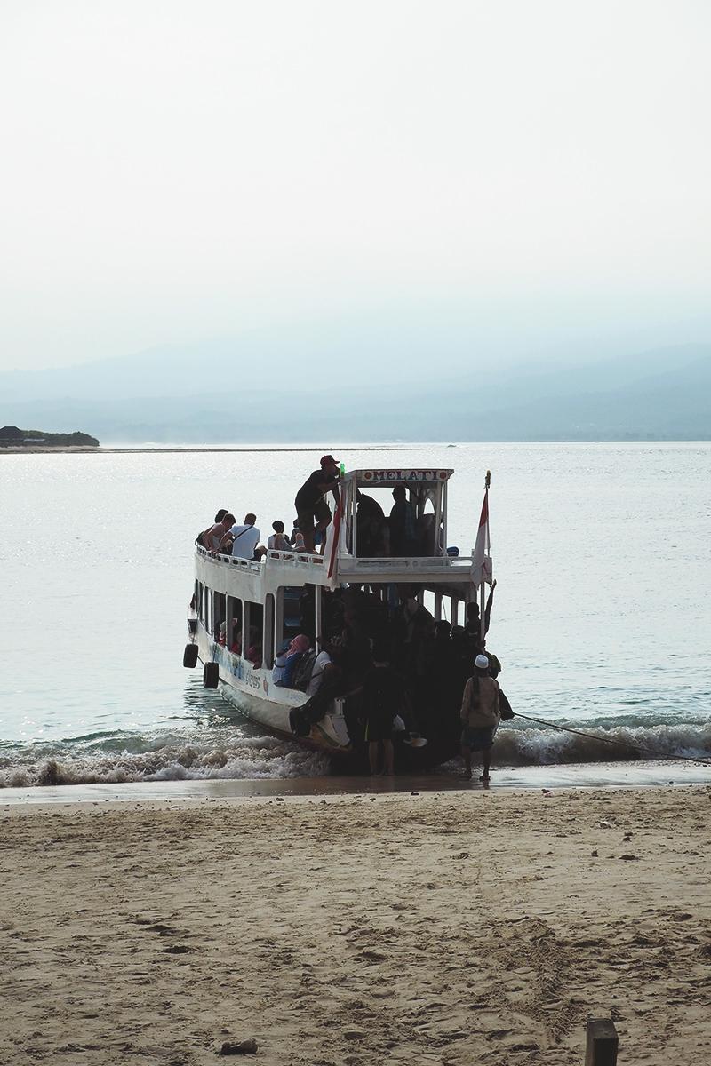 Fast boats to Gili Islands, Bumpkin Betty