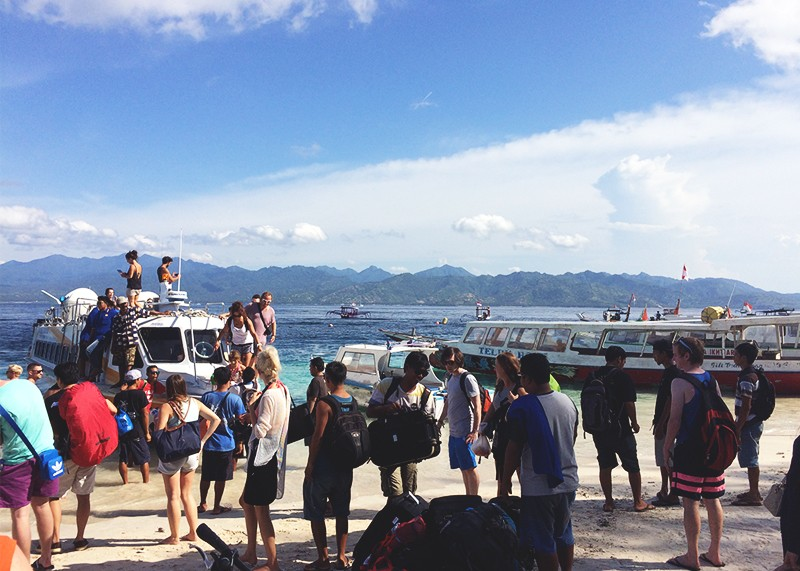 How to get to the Gili Islands, Bumpkin Betty