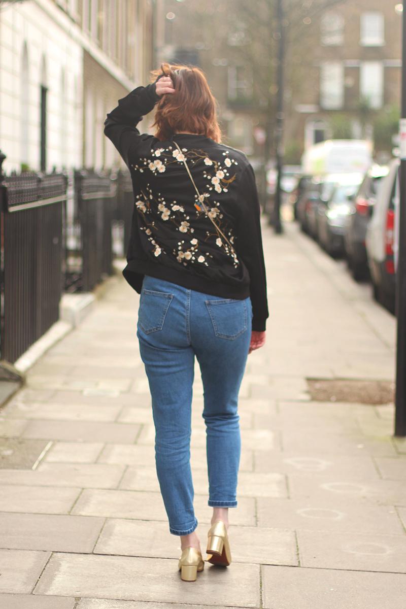 How to wear the bomber jacket, Bumpkin Betty