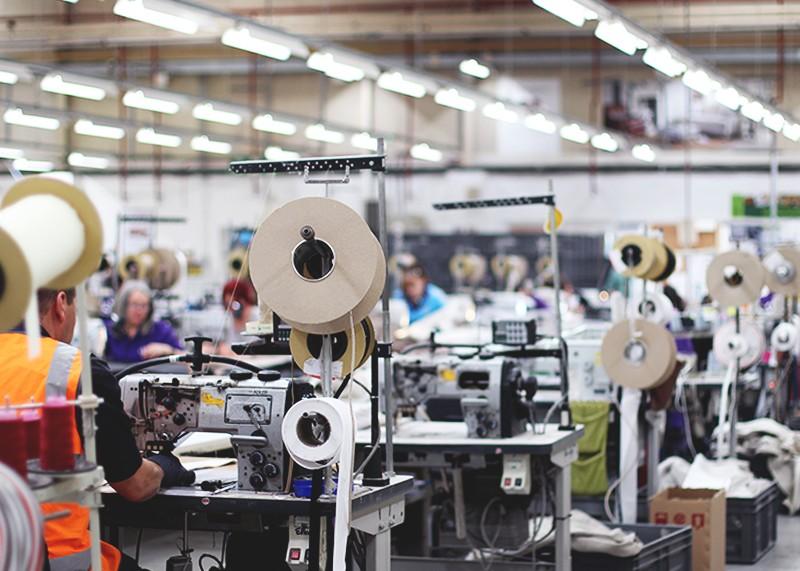 Inside the DFS factory, Bumpkin betty
