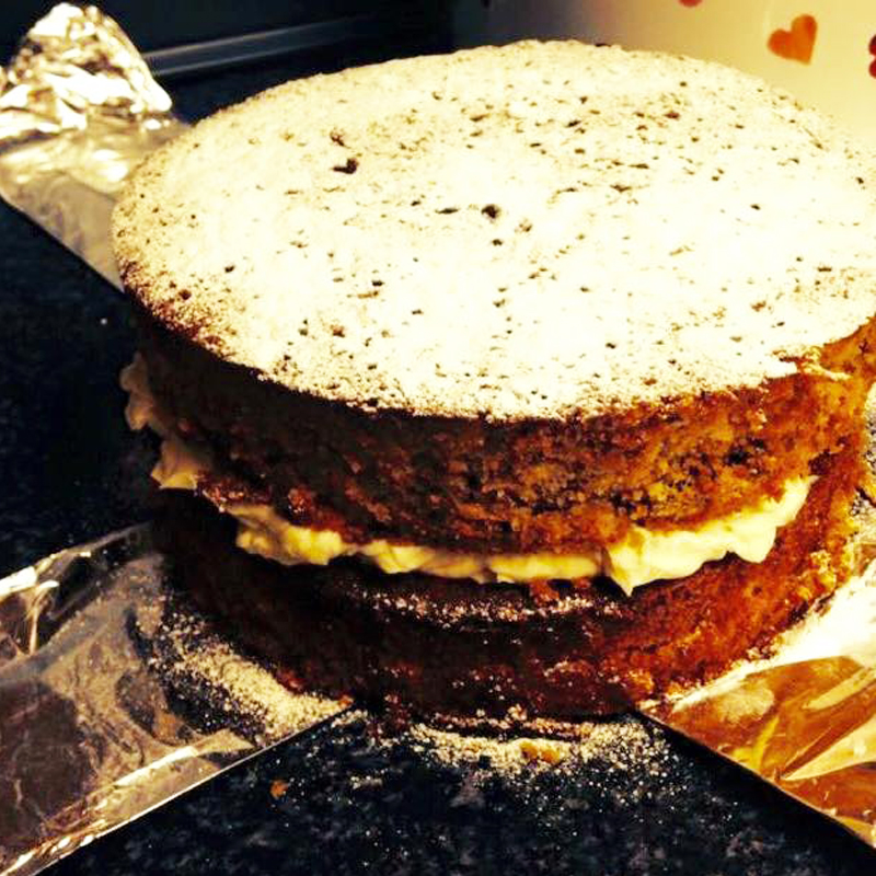 Parsnip and maple syrup cake, Bumpkin Betty