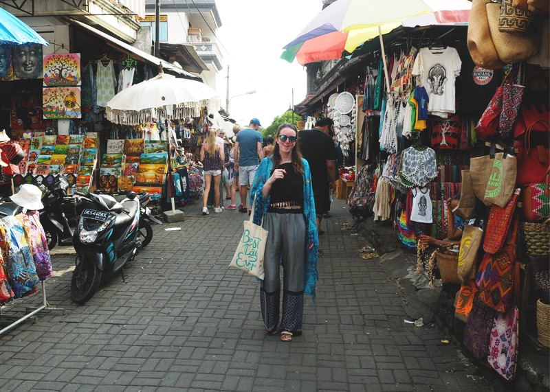 Ubud town markets, Bumpkin Betty