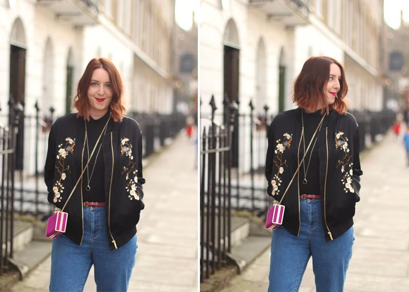 Zara bomber jackets, Bumpkin Betty