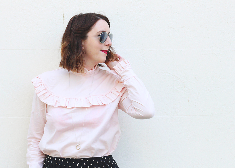 How to wear the Harry blouse, Bumpkin Betty