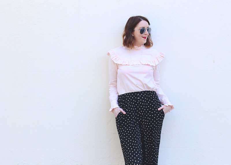 How to wear the Archive by Alexa Harry blouse, Bumpkin Betty