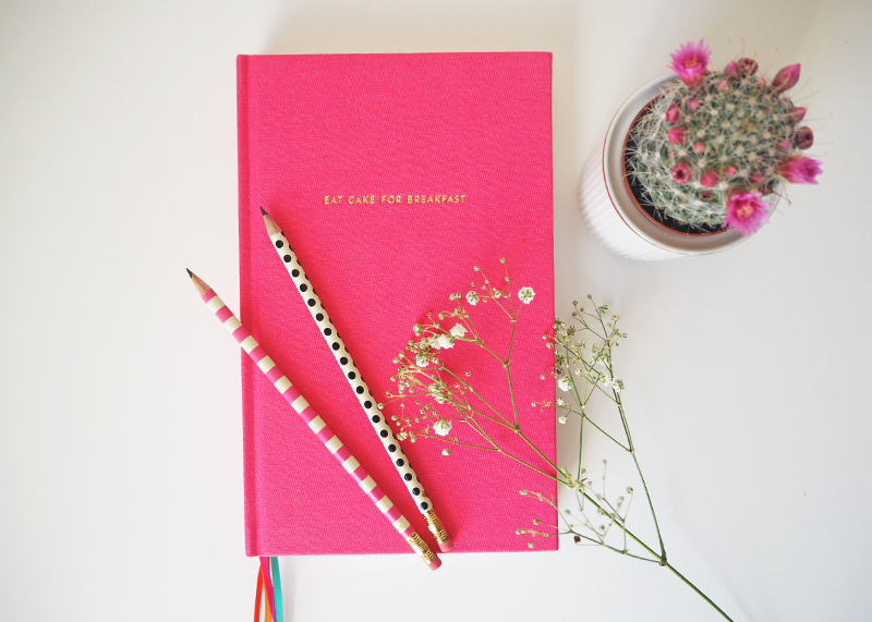 Kate Spade New York notebook