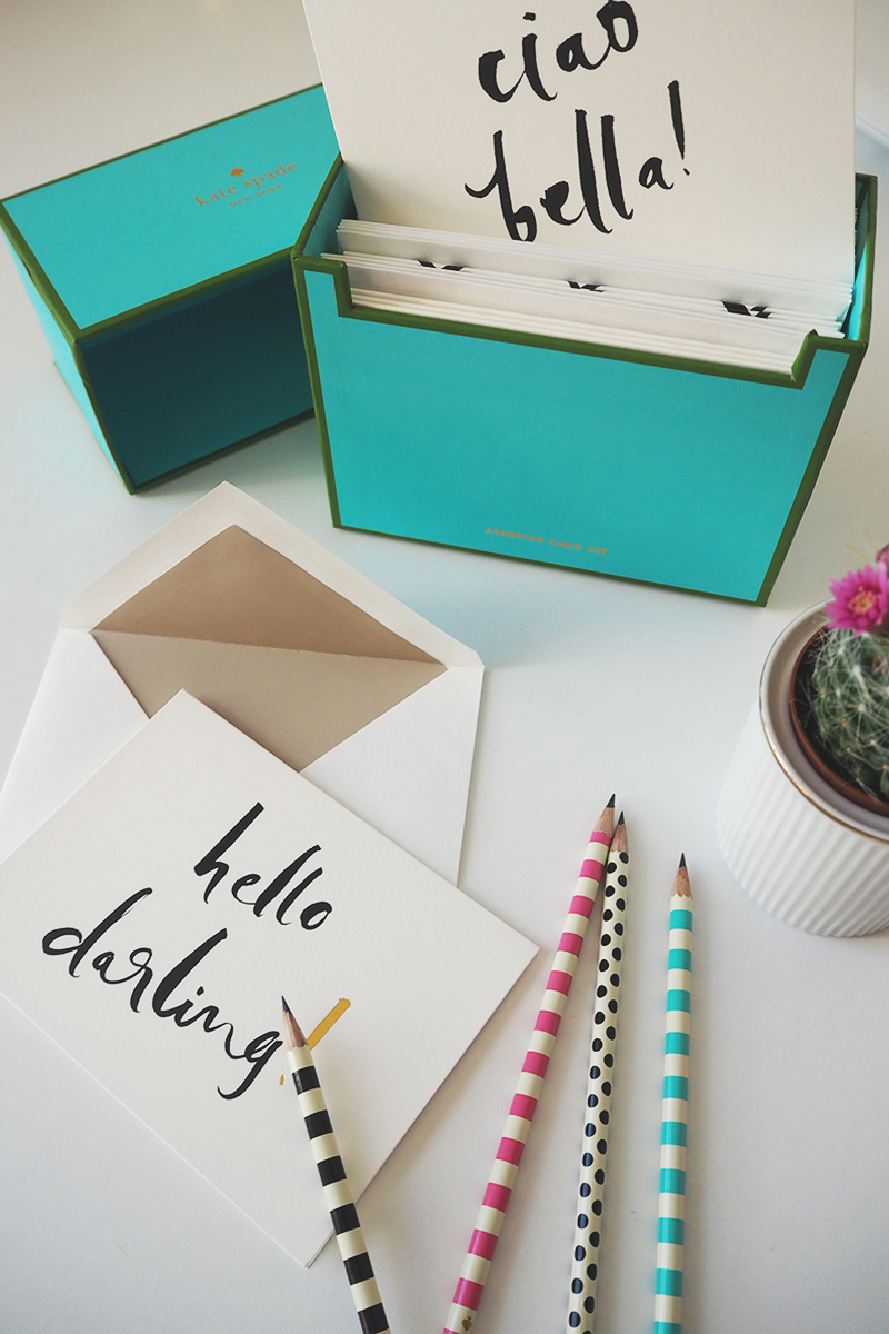 Kate Spade stationery collection, Bumpkin betty