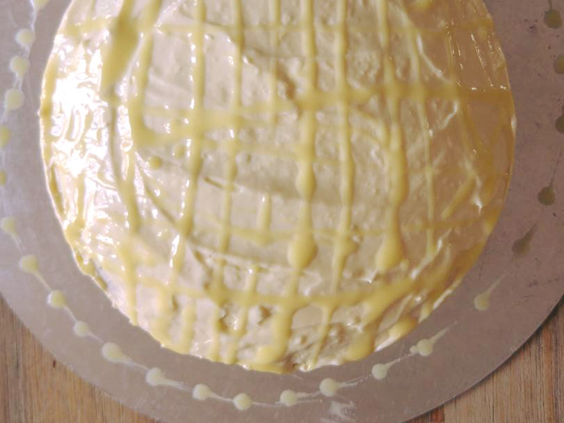 Lemon drizzle sponge cake, Bumpkin betty