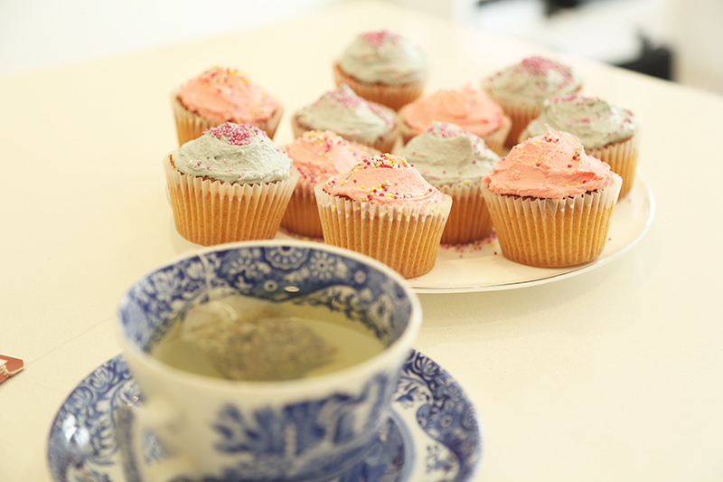 Pastel cupcake recipe, Bumpkin betty