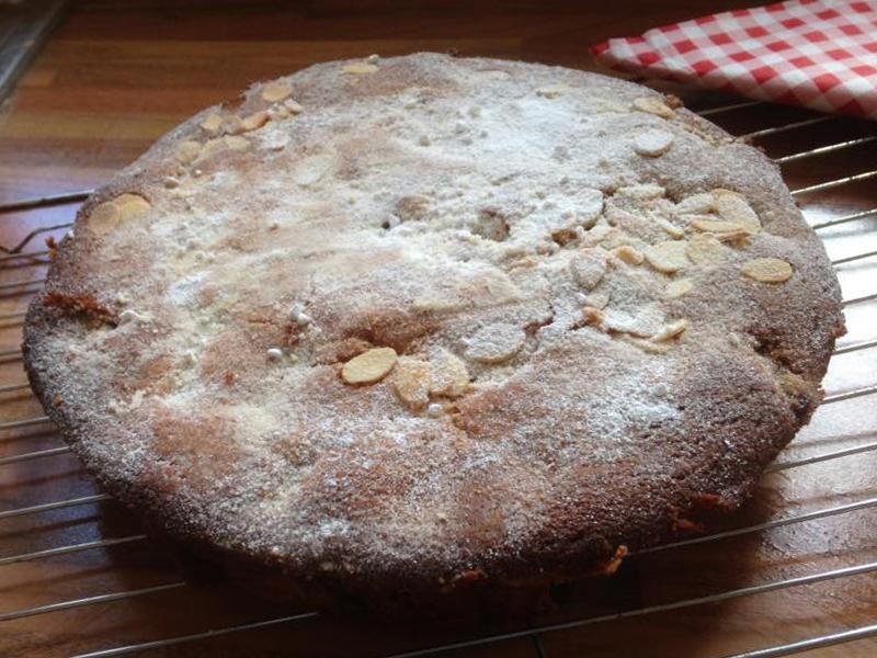 Rhubarb cake, Bumpkin Betty
