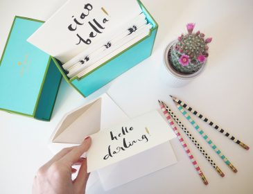 Where to shop for kate Spade stationery, Bumpkin Betty