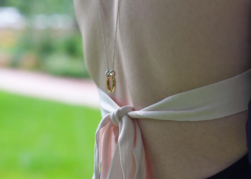 Open back bodysuit by H&M, Bumpkin Betty