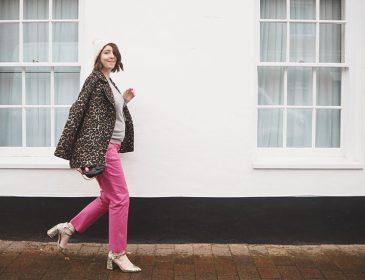 Boden pink richmond trousers, Bumpkin Betty