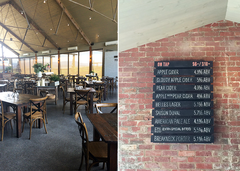 Breweries to visit in the yarra Valley, Bumpkin Betty