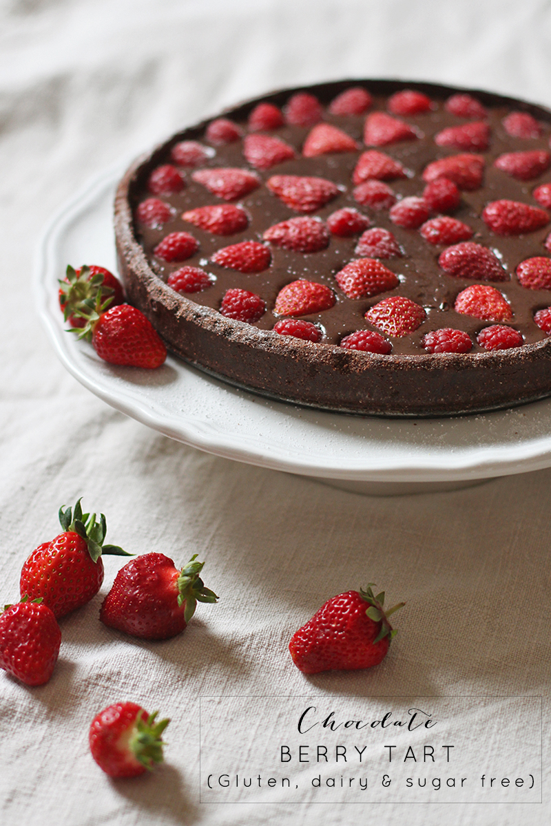 Chocolate berry tart, Bumpkin Betty