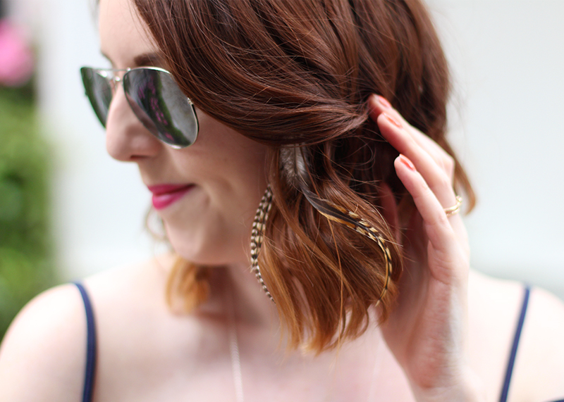 Duck and Dry feather extensions, Bumpkin Betty