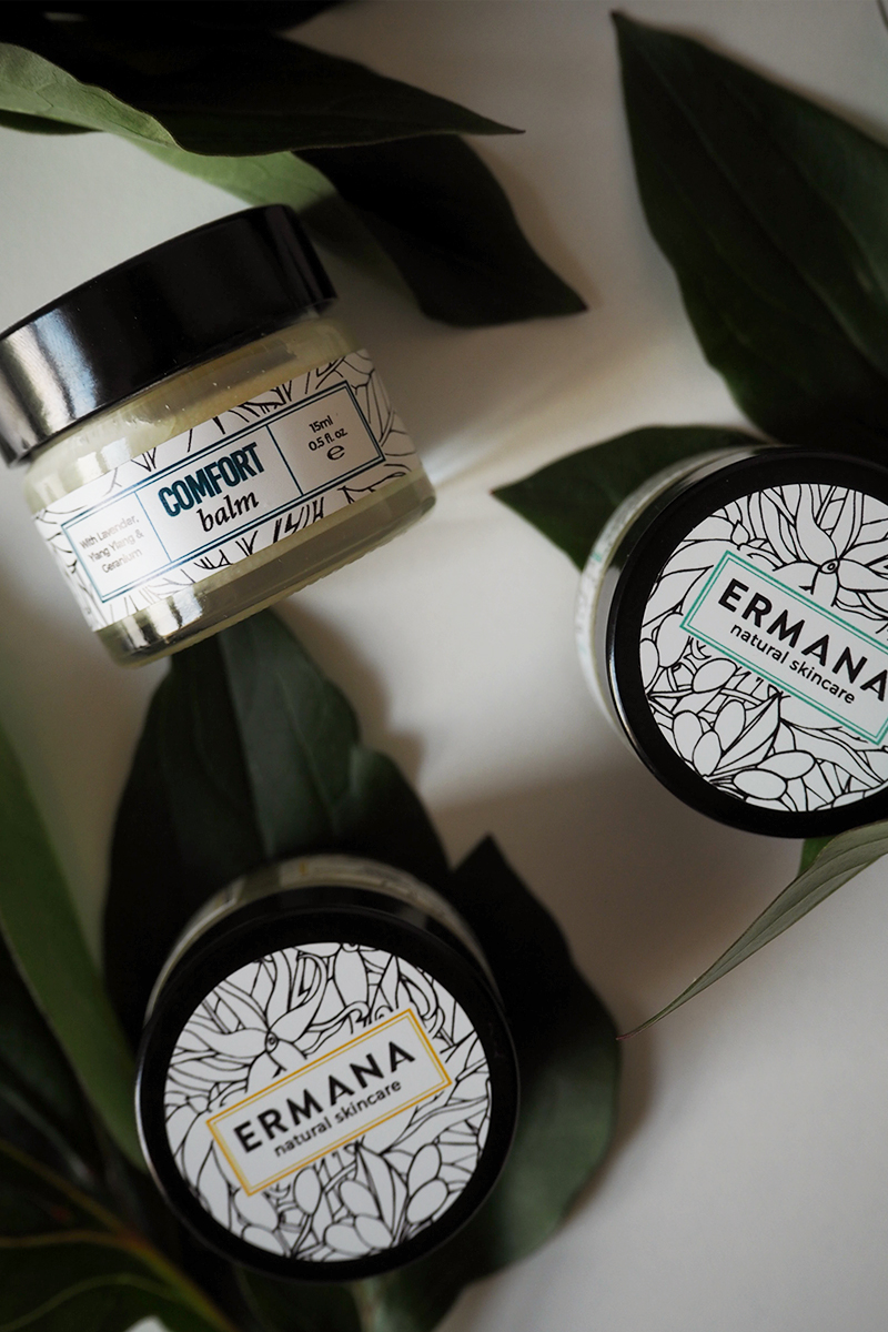 Ermana cleanse balm skincare, Bumpkin betty
