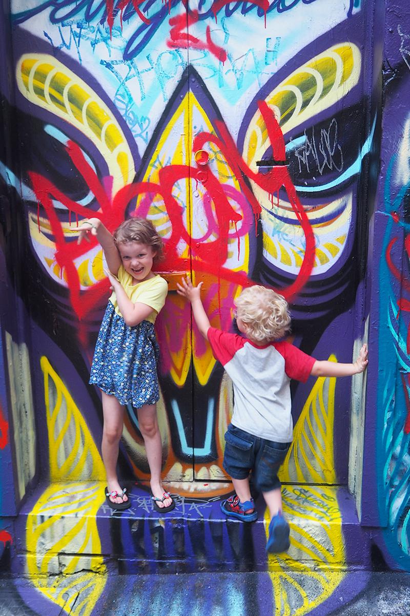 Graffiti art in Melbourne, Bumpkin Betty