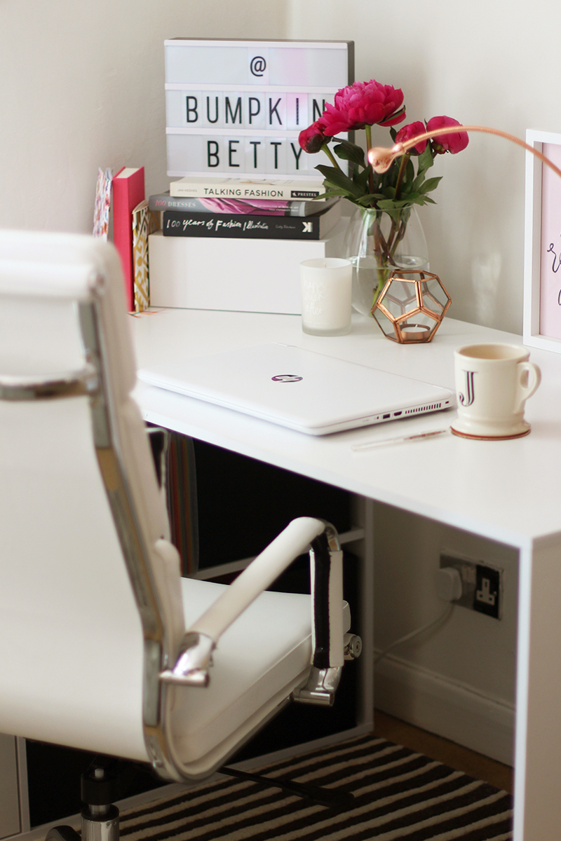Home office revamp, Bumpkin Betty