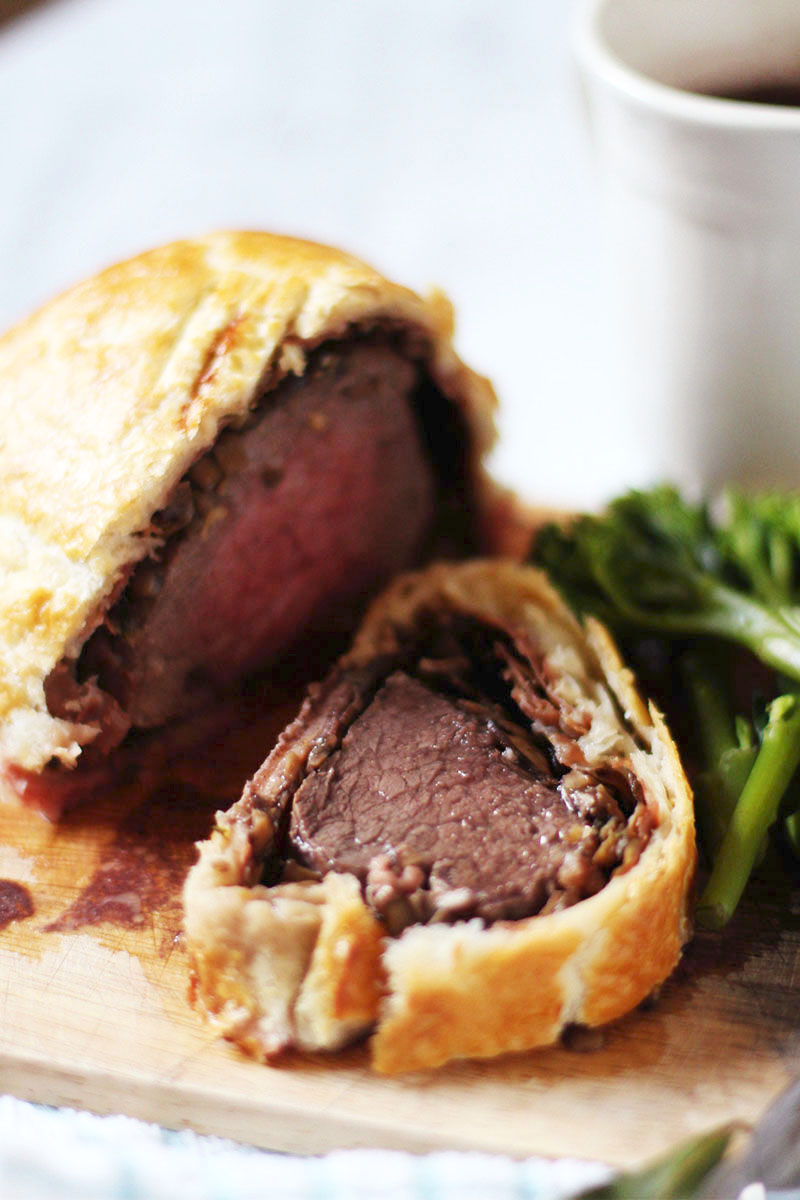 Homemade beef wellington, Bumpkin Betty