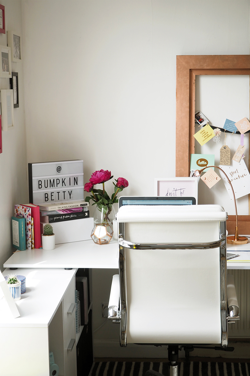 How to create the perfect work space, Bumpkin Betty