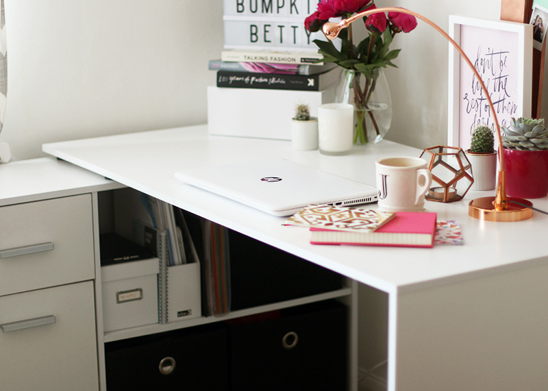 How to make your desk a motivational space, Bumpkin Betty
