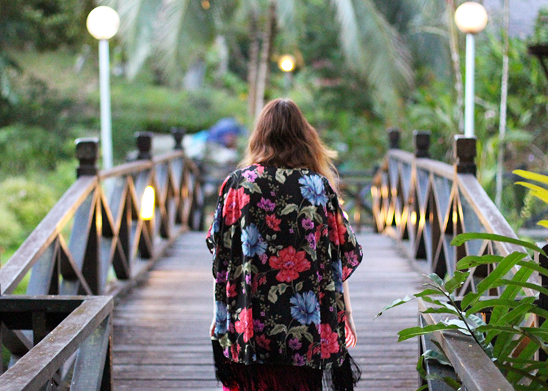 New Look floral kimono, Bumpkin Betty