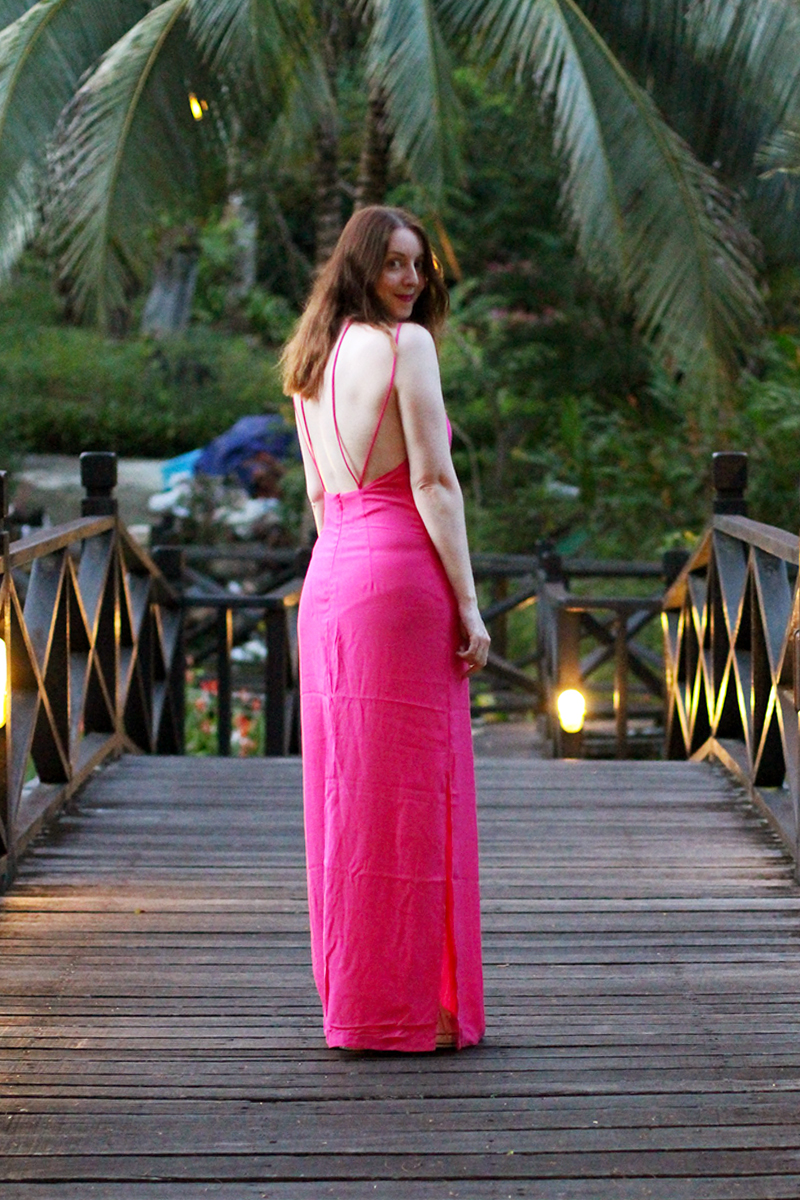 Pink maxi dresses, Bumpkin betty