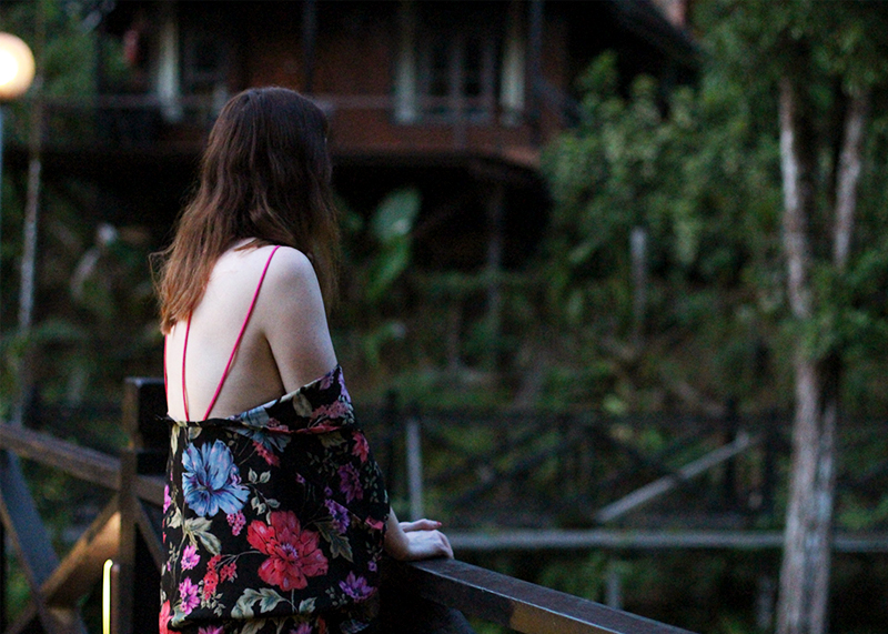 Staying at Sepilok Nature Resort, Bumpkin betty
