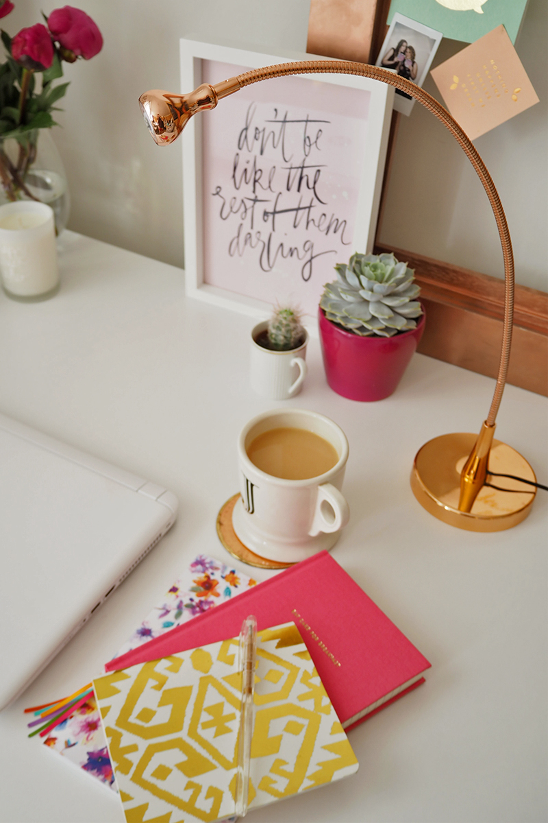 Tips for decorating your work space, Bumpkin Betty