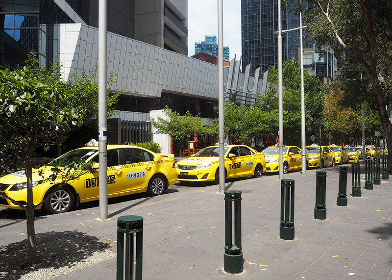 Yellow cabs in melbourne, Bumpkin Betty
