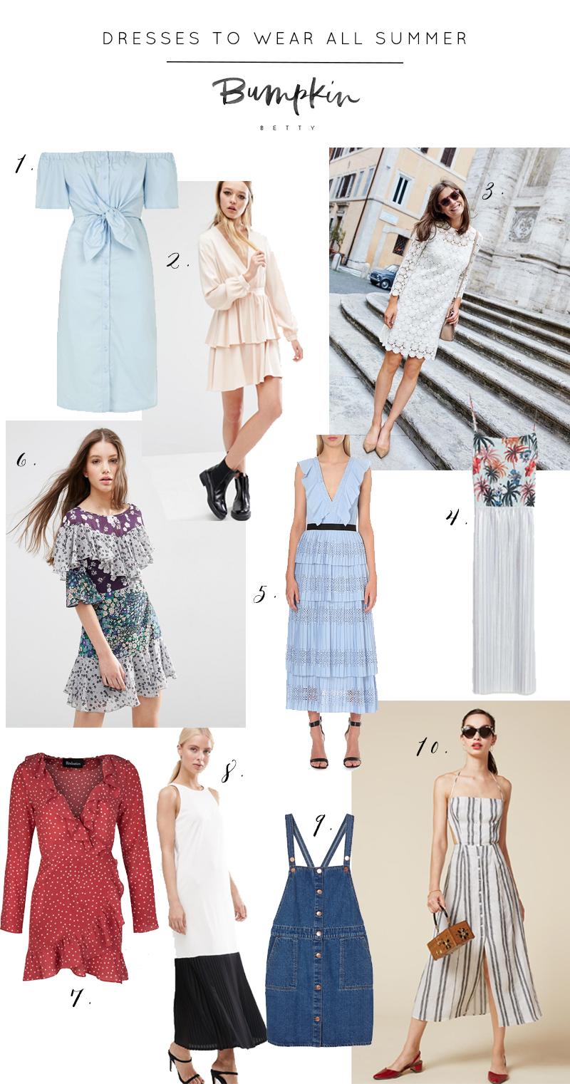 Dresses to wear all summer long, Bumpkin Betty
