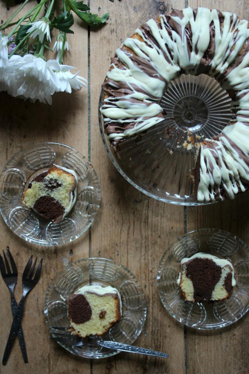 Chocolate Marble cake, BB Baking Club