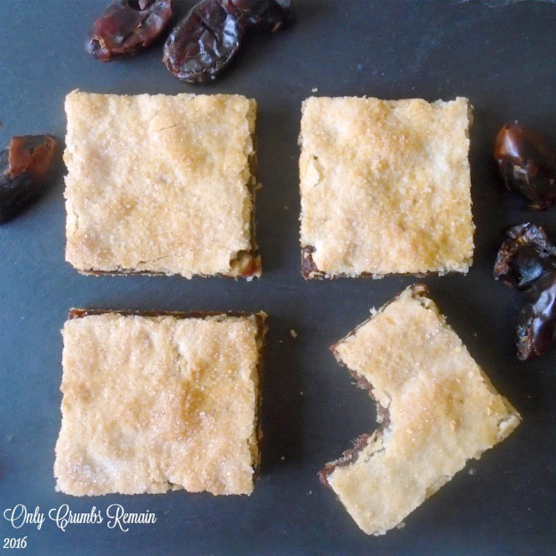 Date slices, BB Baking Club