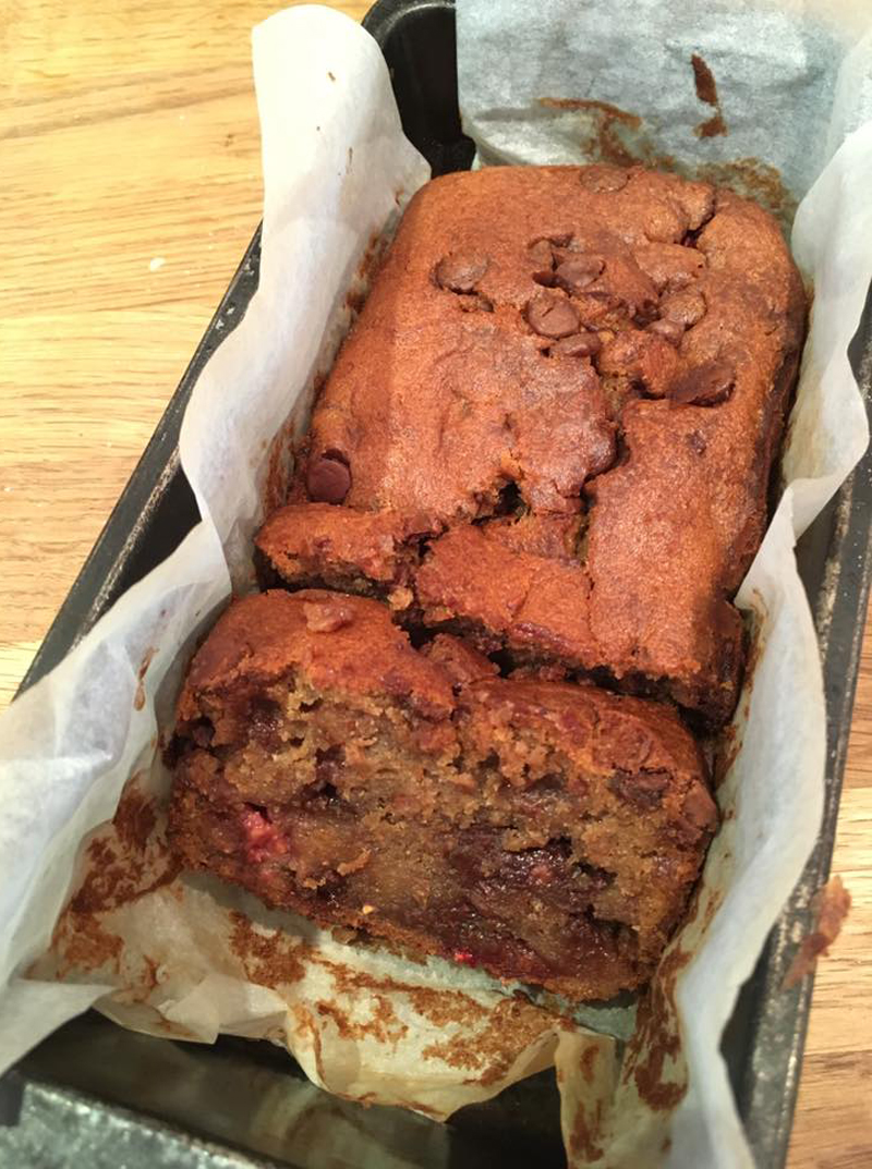 Chocolate and banana loaf cake, Bumpkin Betty Baking Club