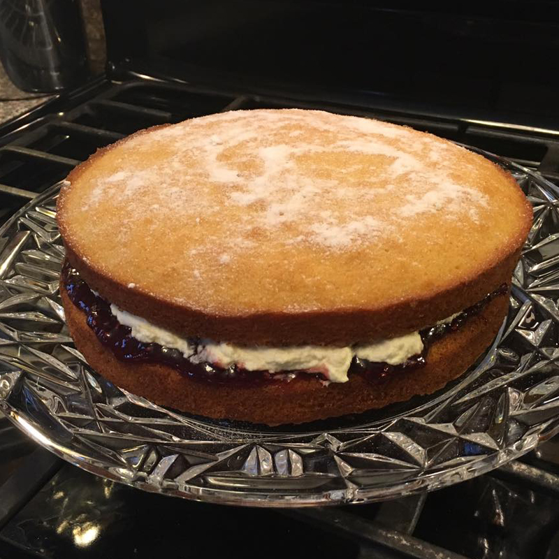 Classic Victoria Sponge Cake, Bumpkin Betty Baking Club