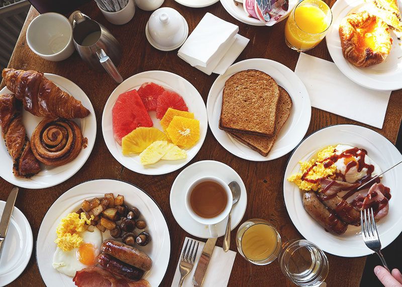 Best hotel breakfasts, Bumpkin Betty
