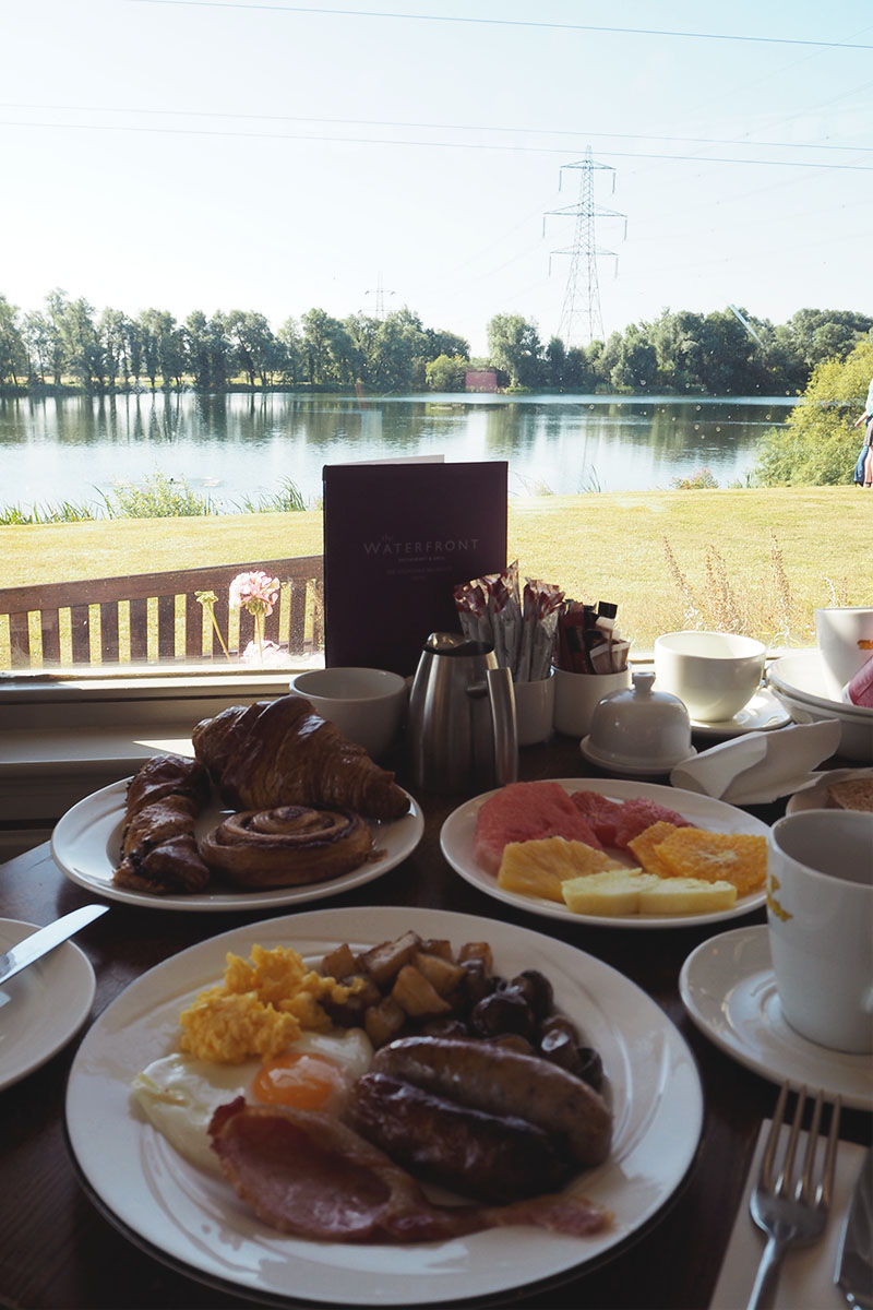 Breakfast at the Wyboston Lakes Hotel, Bumpkin Betty