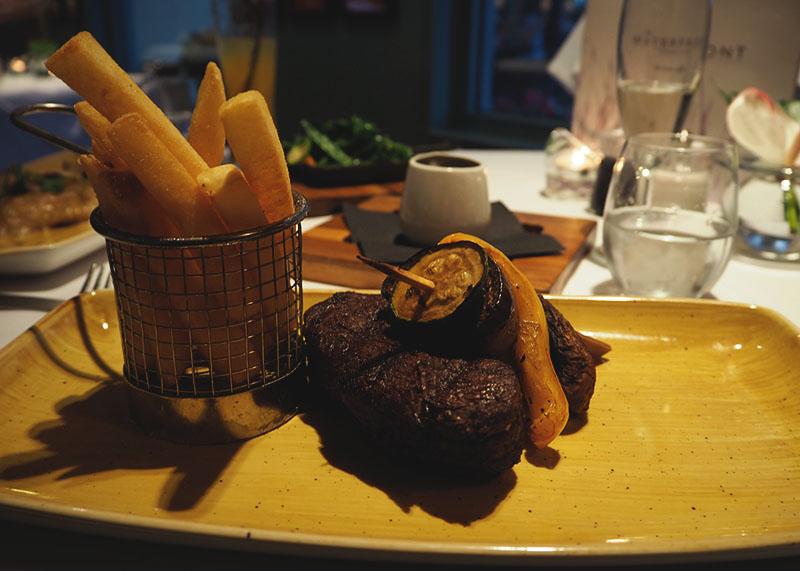 Food at Wyboston Lakes Hotel, Bumpkin Betty
