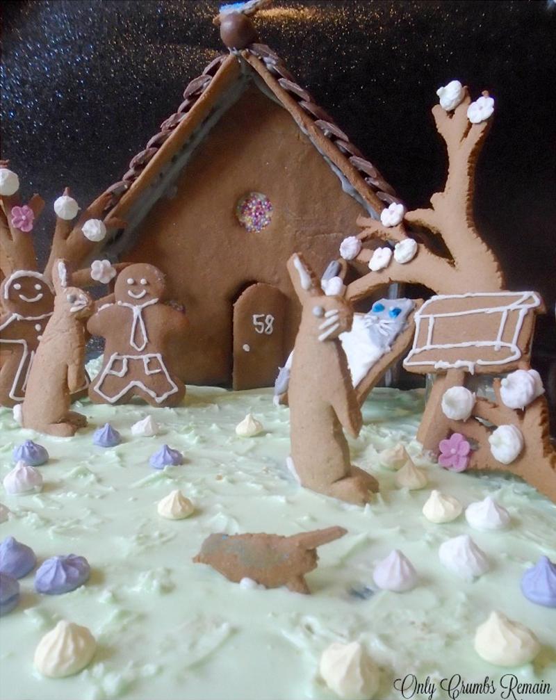 Homemade gingerbread house, Bumpkin Betty Baking Club