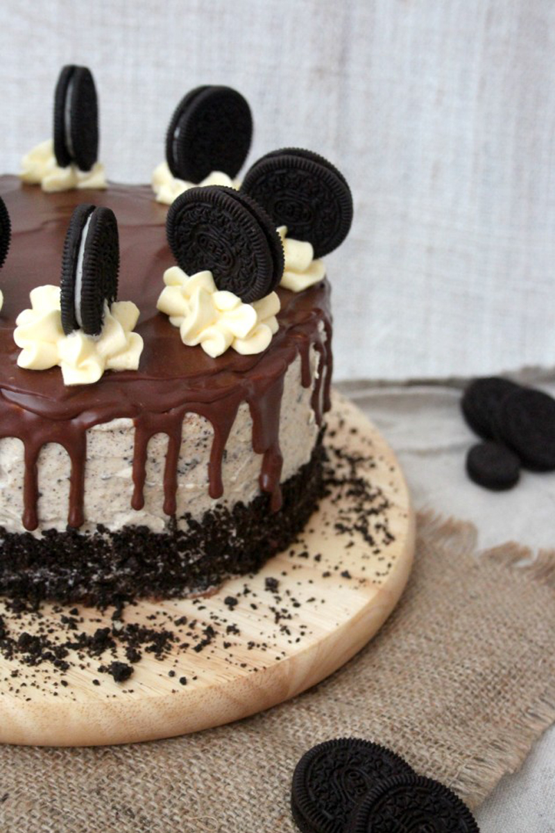 Oreo cookies and cream Layer cake, Bumpkin Betty Baking Club