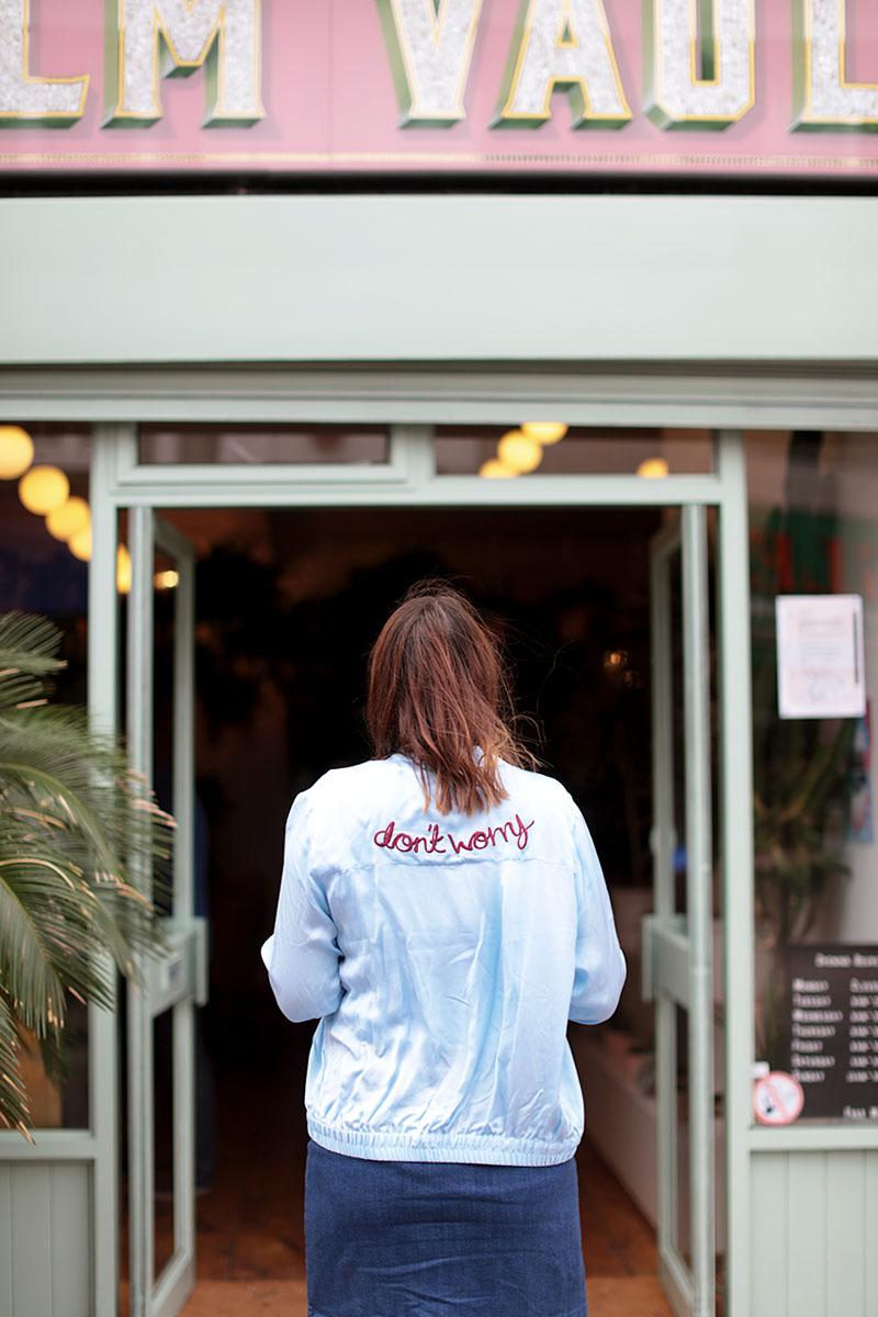 Palm Vaults cafe London, Bumpkin betty