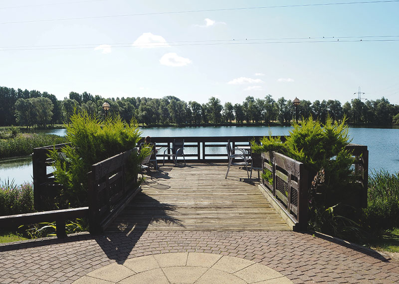 View from the Waterfront restaurant, Bumpkin Betty