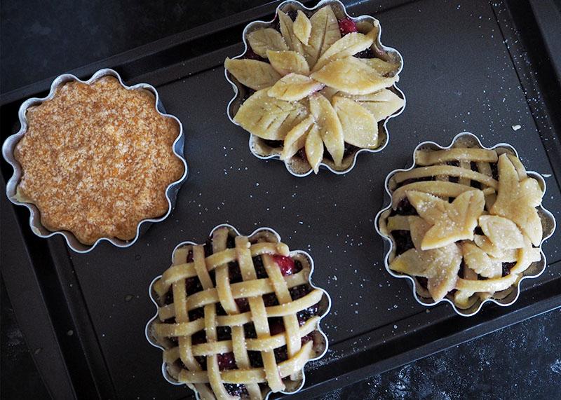 Autumn mini pie recipes, Bumpkin Betty