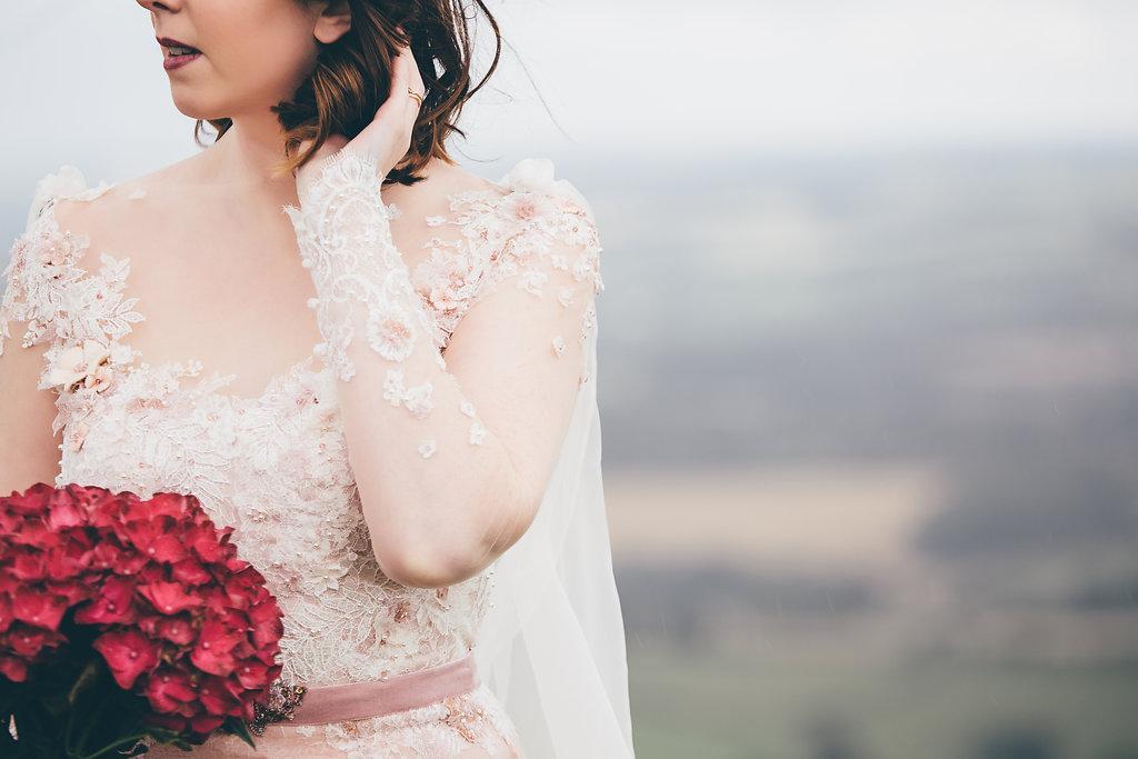 Wedding dress details, Bumpkin Betty