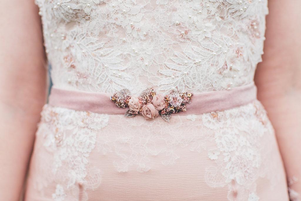Lace wedding dress by Wilden london, Bumpkin Betty