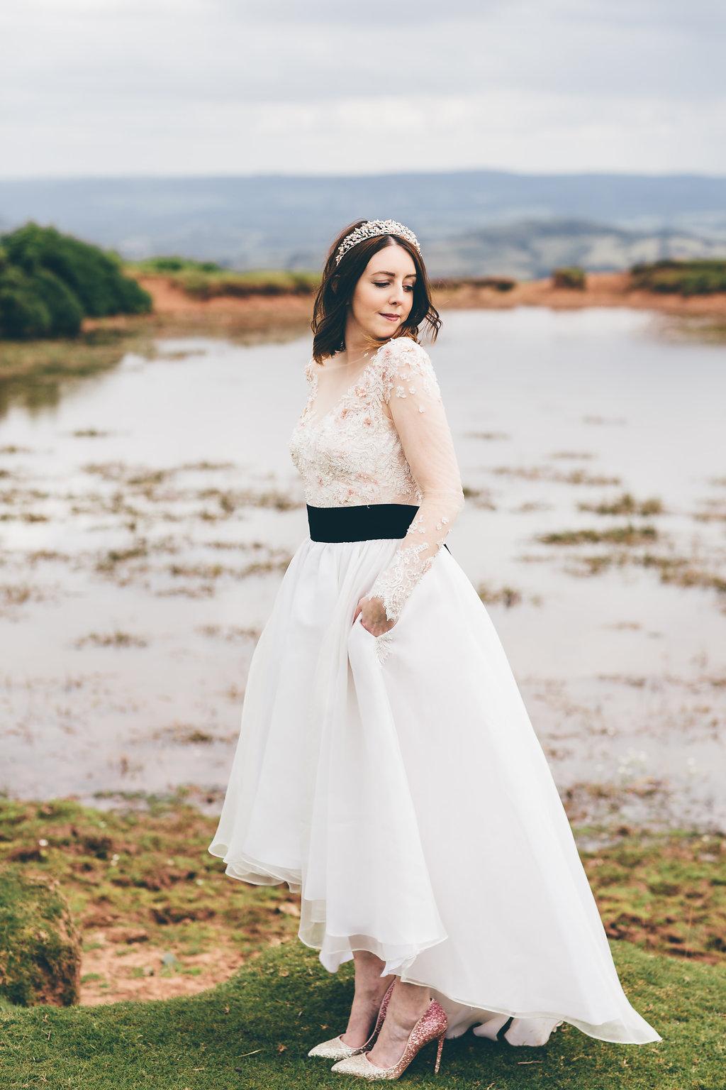 Olivia Palermo inspkired wedding dress, Bumpkin Betty