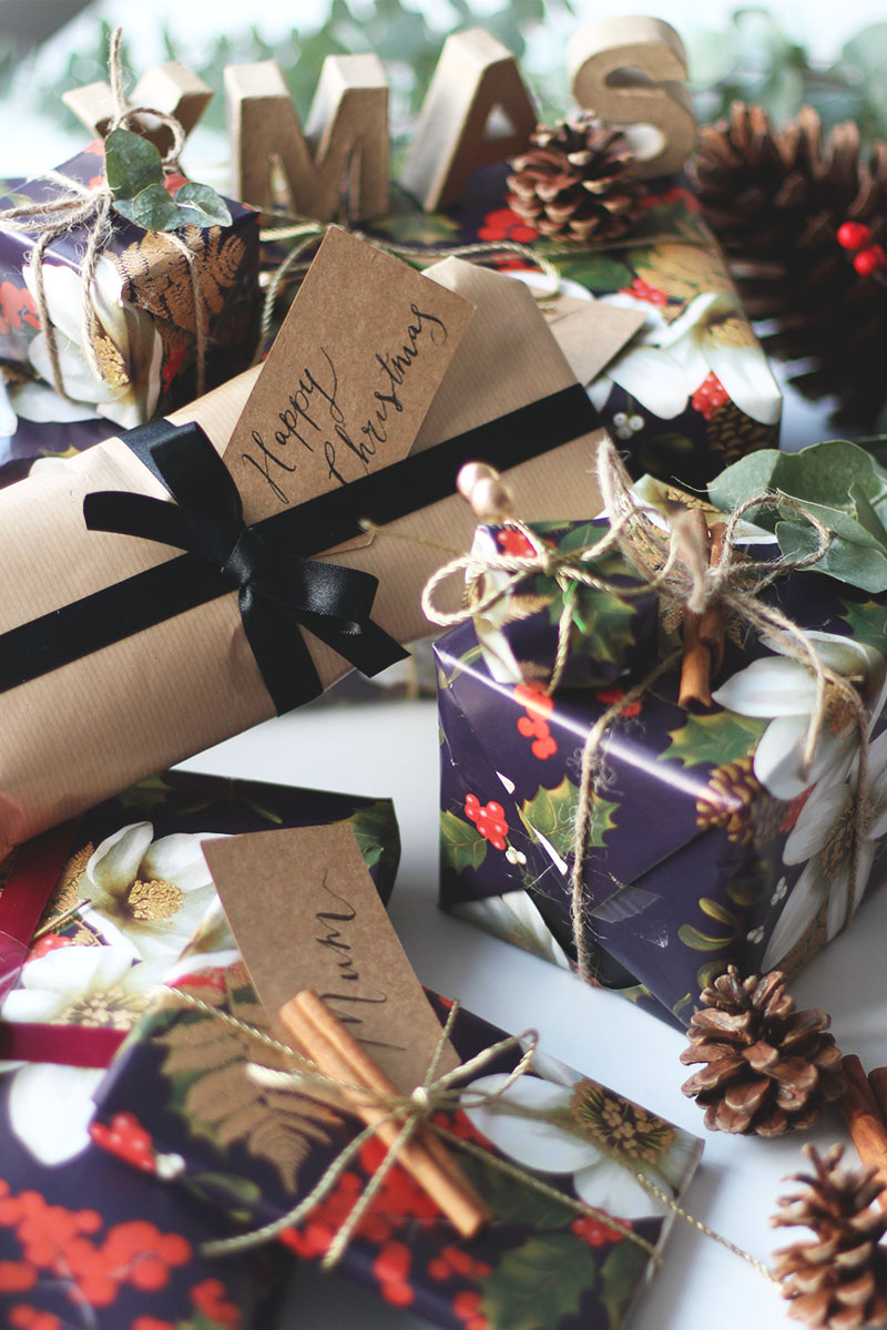 Christmas wrapping tips, Bumpkin Betty