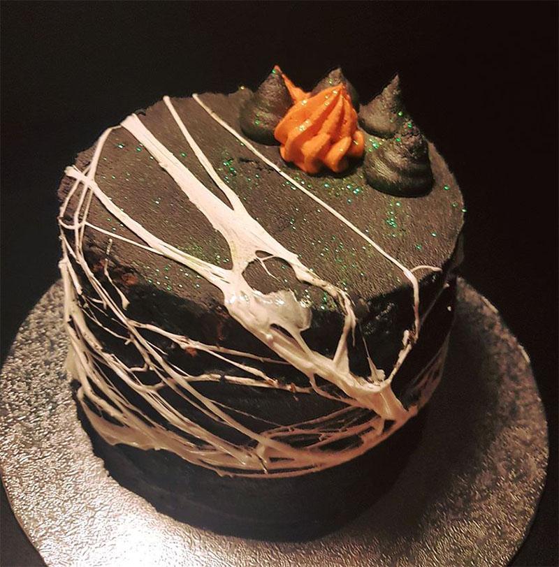 Halloween layer cake, Bumpkin Betty Baking Club
