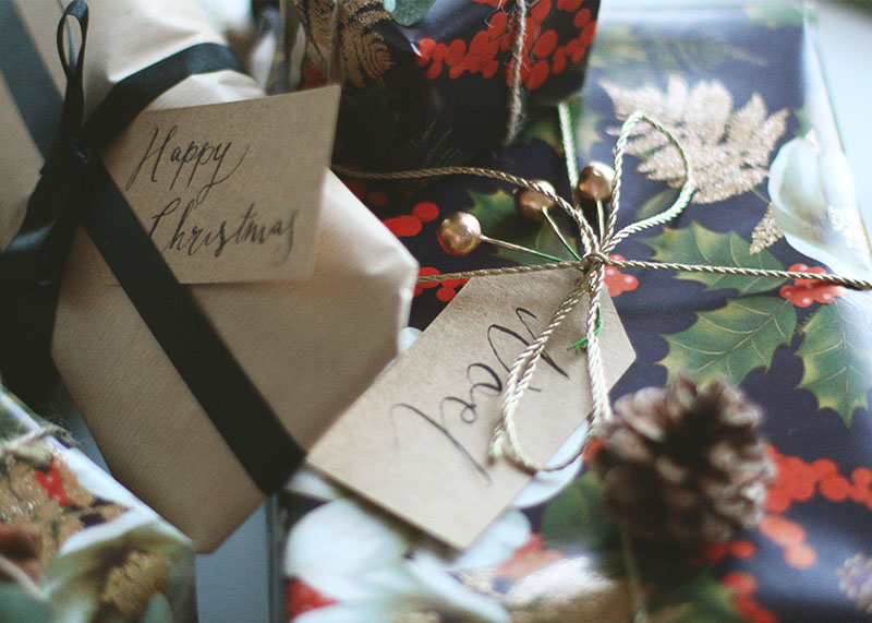 How to make your own Christmas tags, Bumpkin Betty